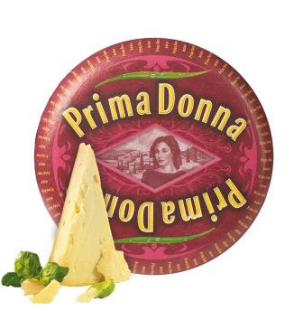 Prima Donna cheese stands out with attractive new look
