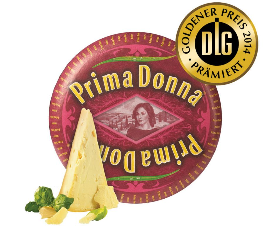 Prima Donna awarded with gold
