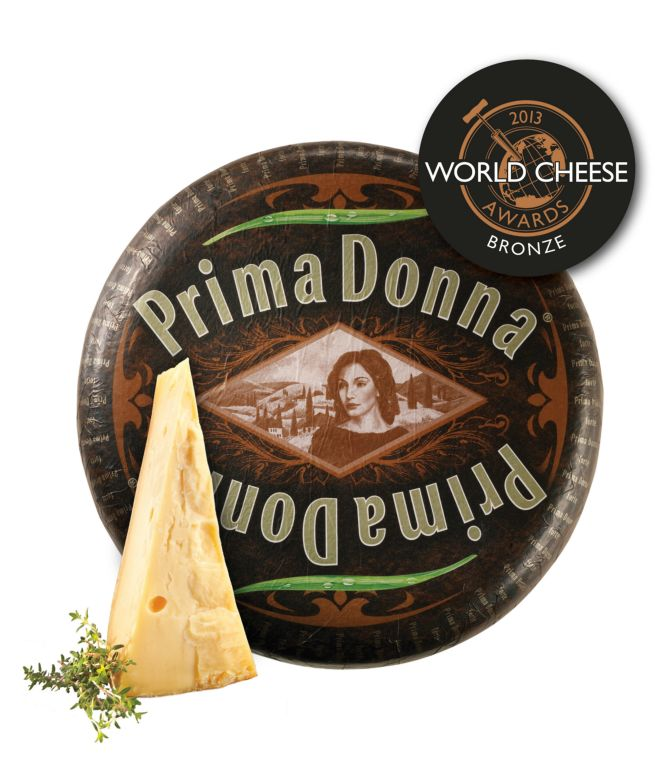 Prima Donna forte wins Bronze award at World Cheese Awards