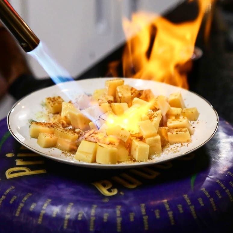 Prima Donna flamed recipe