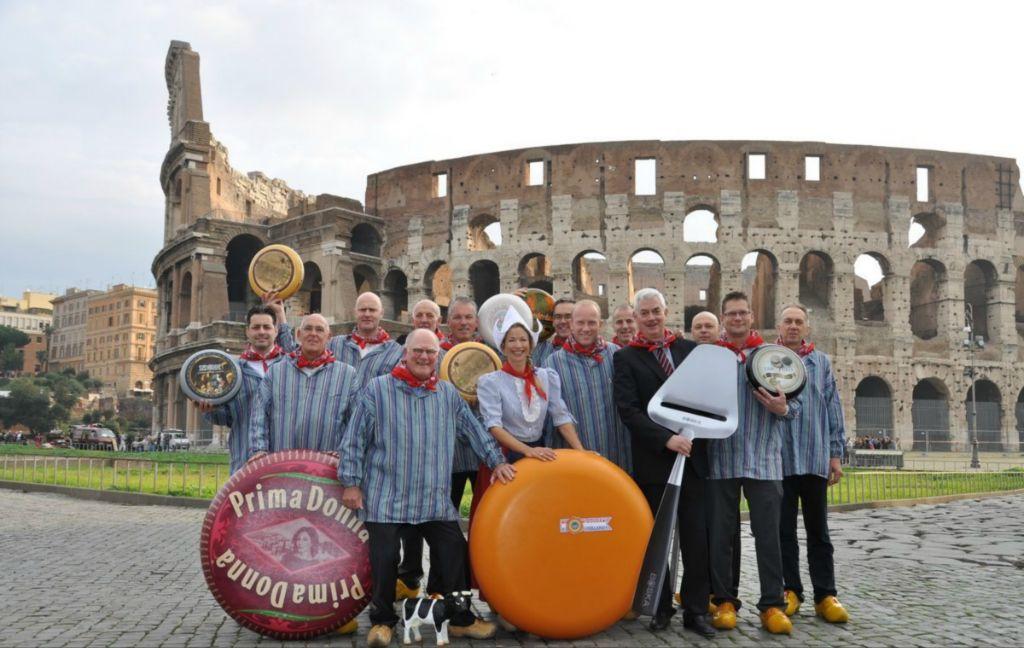 Prima Donna cheese in Rome
