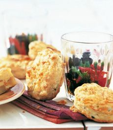 Cheese and Olive Biscuits