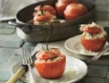 Stuffed tomatoes with spelt and herbs