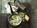Risotto with Prima Donna and spinach
